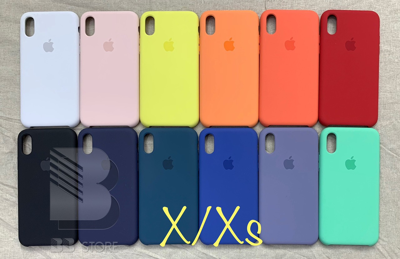 Ốp lưng silicon iPhone X