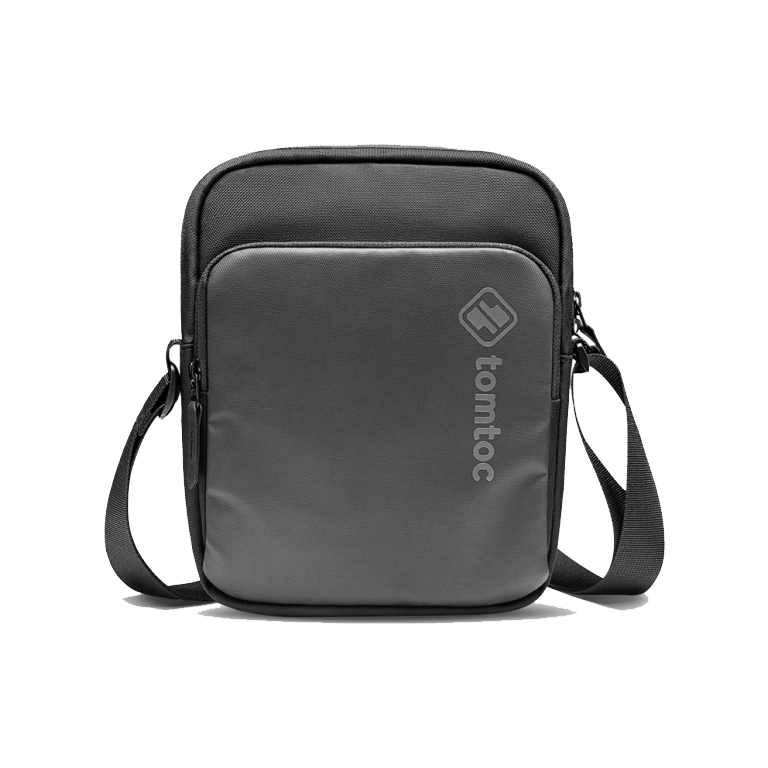 TÚI ĐEO CHÉO TOMTOC (USA) MINI CROSSBODY FOR TECH ACCESSORIES AND IPAD MINI 7.9INCH